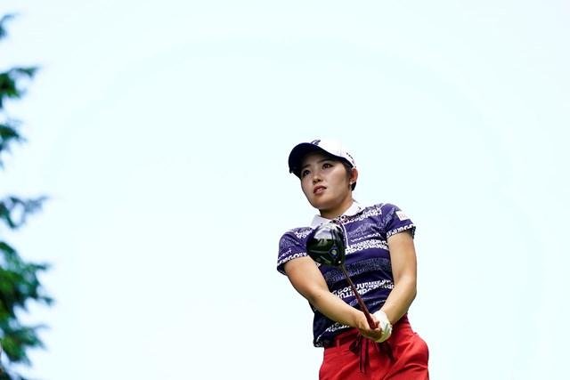 2020年 ゴルフ5レディス プロゴルフトーナメント 最終日 古江彩佳 古江彩佳は好調をキープ(代表撮影・岡沢裕行)