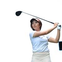 次こそ優勝します(代表撮影・渡辺義孝) 2020年 ゴルフ5レディス プロゴルフトーナメント 最終日 葭葉ルミ