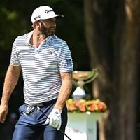 悲願の年間王者に王手をかけたダスティン・ジョンソン(Ben Jared/PGA TOUR via Getty Images) 2020年 ツアー選手権  3日目 ダスティン・ジョンソン