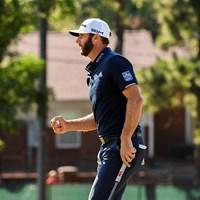 ダスティン・ジョンソンが逃げ切りで初の年間王者の座についた(Ben Jared/PGA TOUR via Getty Images) 2020年 ツアー選手権  最終日 ダスティン・ジョンソン