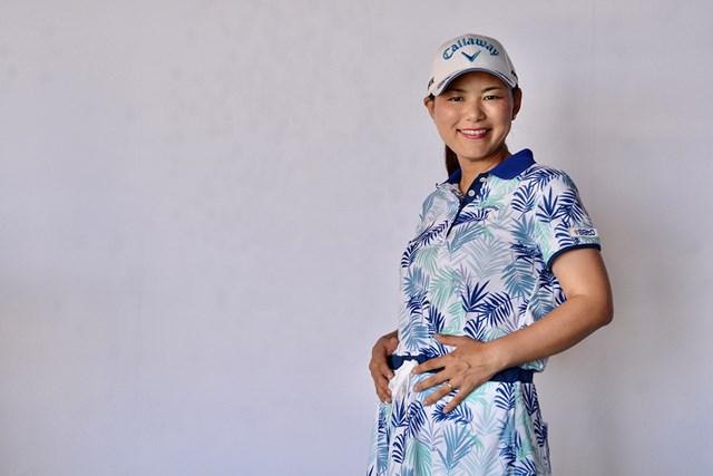 2020年 横峯さくら 横峯さくらが第一子妊娠を発表(マネジメント会社提供)