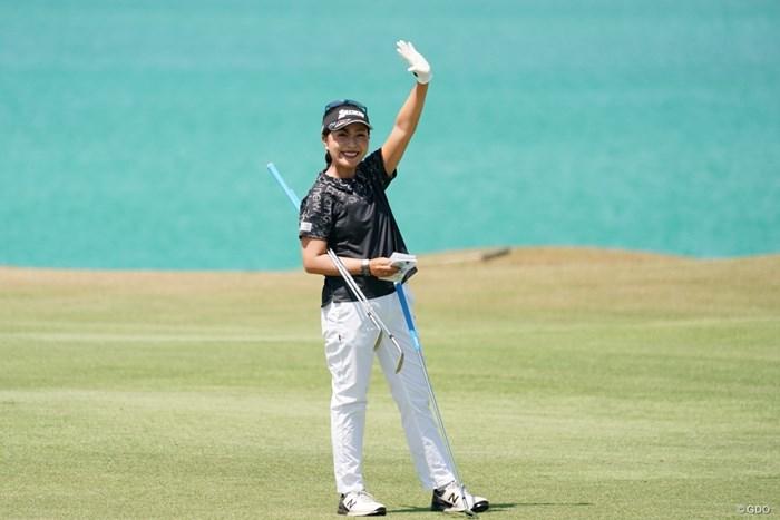 元気いっぱい 2020年 日本女子プロゴルフ選手権大会コニカミノルタ杯 事前 青木瀬令奈