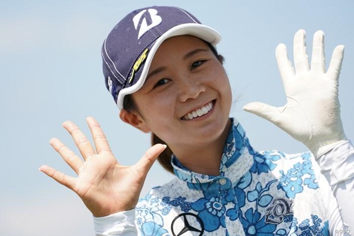 は~い! 2020年 日本女子プロゴルフ選手権大会コニカミノルタ杯 事前 金澤志奈