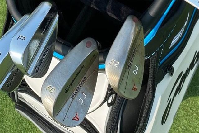 ウェッジは52度と60度(画像提供:GolfWRX、PGATOUR.COM)