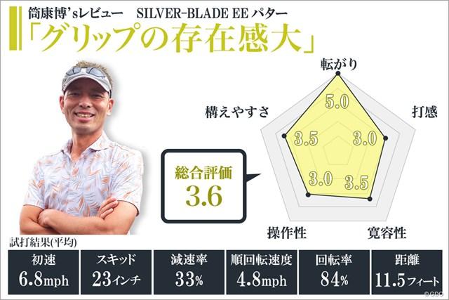 SILVER-BLADE EE パターを筒康博が試打「グリップの存在感大」