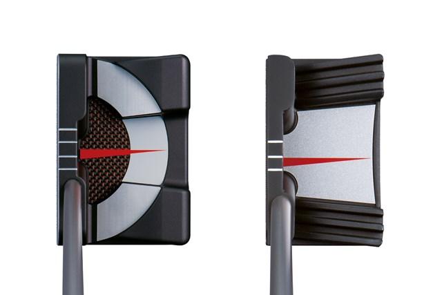 ヨネックス「EZONE TP-S600 パター」(左)と「EZONE TP-GR2 パター」(右)