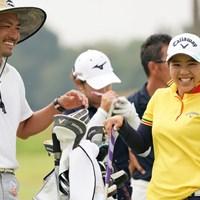 兄弟ですか? 2020年 日本女子プロゴルフ選手権大会コニカミノルタ杯 事前 田中瑞希