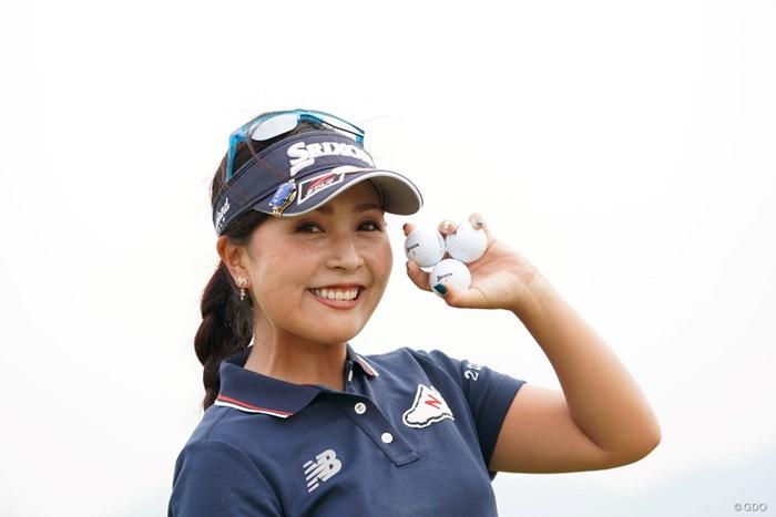 セレニャン頑張れ 2020年 日本女子プロゴルフ選手権大会コニカミノルタ杯 事前 青木瀬令奈