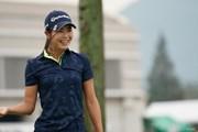 2020年 日本女子プロゴルフ選手権大会コニカミノルタ杯 事前 松森彩夏