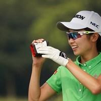無邪気 2020年 日本女子プロゴルフ選手権大会コニカミノルタ杯 事前 安田祐香