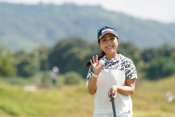 青木瀬令奈が6アンダー首位タイで発進した 2020年 日本女子プロゴルフ選手権大会コニカミノルタ杯 初日 青木瀬令奈
