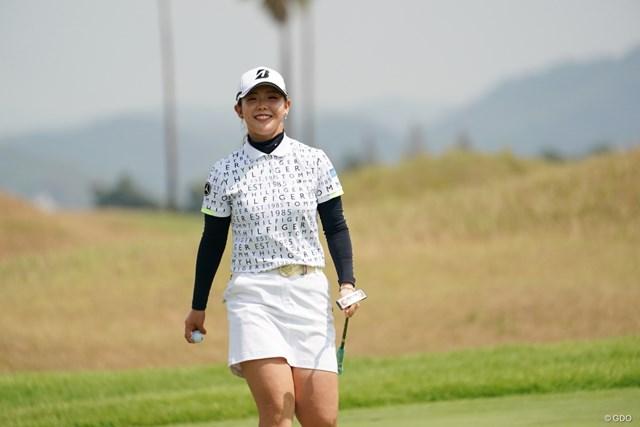 2020年 日本女子プロゴルフ選手権大会コニカミノルタ杯 初日 吉田優利 首位と2打差の好位置で初日を終えた吉田優利