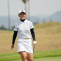 首位と2打差の好位置で初日を終えた吉田優利 2020年 日本女子プロゴルフ選手権大会コニカミノルタ杯 初日 吉田優利