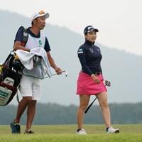 納得顔してる 2020年 日本女子プロゴルフ選手権大会コニカミノルタ杯 初日 小祝さくら