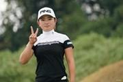 2020年 日本女子プロゴルフ選手権大会コニカミノルタ杯 初日 吉川桃