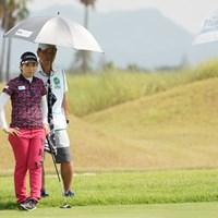 やっぱりこのペアだね 2020年 日本女子プロゴルフ選手権大会コニカミノルタ杯 初日 笠りつ子