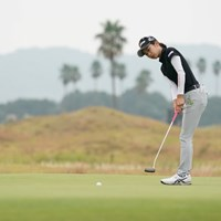 笑顔が消えた、当たり前だね 2020年 日本女子プロゴルフ選手権大会コニカミノルタ杯 初日 安田祐香