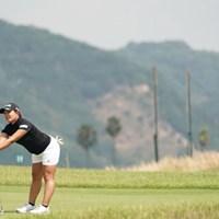 おや~パターが 2020年 日本女子プロゴルフ選手権大会コニカミノルタ杯 初日 鈴木愛