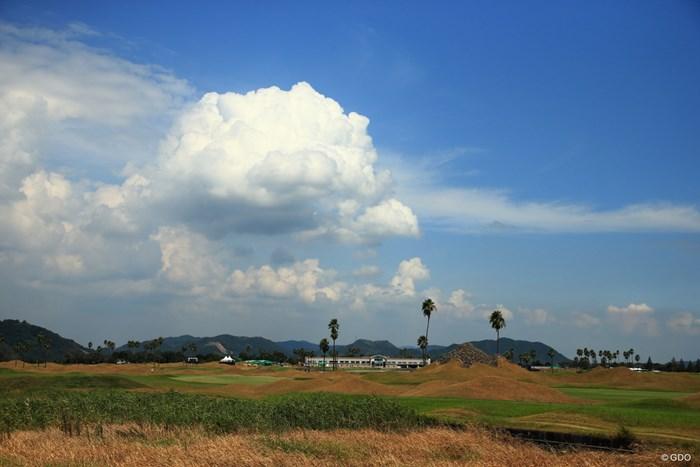 天気には恵まれたね 2020年 日本女子プロゴルフ選手権大会コニカミノルタ杯 初日 大会コース