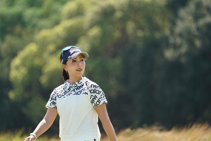 調子いいんじゃないのかな 2020年 日本女子プロゴルフ選手権大会コニカミノルタ杯 初日 青木瀬令奈