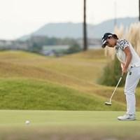 バーディなら単独トップなのに 2020年 日本女子プロゴルフ選手権大会コニカミノルタ杯 初日 青木瀬令奈