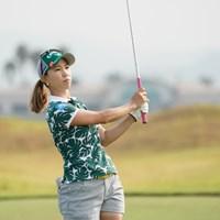 いいんじゃね 2020年 日本女子プロゴルフ選手権大会コニカミノルタ杯 初日 上田桃子