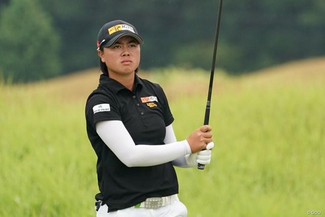 2020年 日本女子プロゴルフ選手権大会コニカミノルタ杯 2日目 笹生優花 笹生優花は首位と2打差で週末を迎える