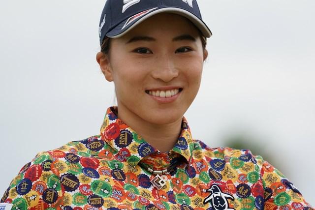 2020年 日本女子プロゴルフ選手権大会コニカミノルタ杯 2日目 澁澤莉絵留 笑顔だけでなく、ハキハキした受け答えも好印象の19歳