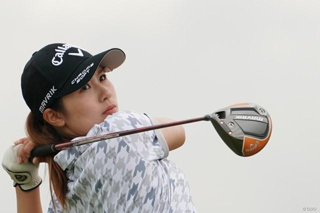2020年 日本女子プロゴルフ選手権大会コニカミノルタ杯 2日目 西村優菜 2日目を終えて2位につける3ルーキーの1人、西村優菜