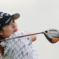 2日目を終えて2位につける3ルーキーの1人、西村優菜 2020年 日本女子プロゴルフ選手権大会コニカミノルタ杯 2日目 西村優菜