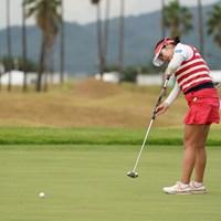 このスタイル、変わってないな~ 2020年 日本女子プロゴルフ選手権大会コニカミノルタ杯 2日目 松原由美