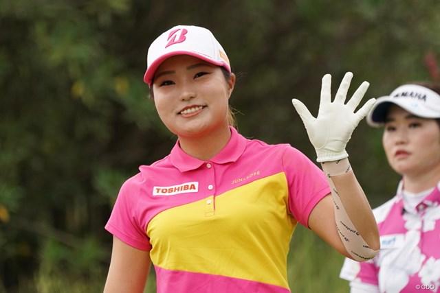 2020年 日本女子プロゴルフ選手権大会コニカミノルタ杯 2日目 高橋彩華 6アンダー2位タイ、うまいもんだね