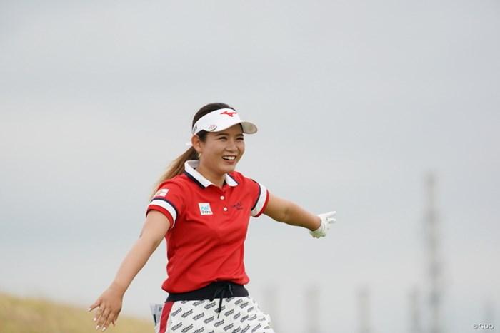 セーフってか 2020年 日本女子プロゴルフ選手権大会コニカミノルタ杯 2日目 吉本ひかる