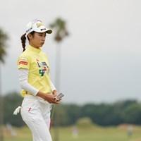 23位タイ、表情が暗いような 2020年 日本女子プロゴルフ選手権大会コニカミノルタ杯 2日目 安田祐香