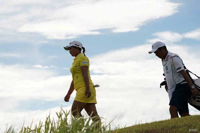 さびしいな~ 2020年 日本女子プロゴルフ選手権大会コニカミノルタ杯 2日目 鈴木愛