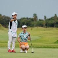 強力、協力 2020年 日本女子プロゴルフ選手権大会コニカミノルタ杯 2日目 木村彩子