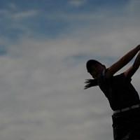 シルエットでごめん 2020年 日本女子プロゴルフ選手権大会コニカミノルタ杯 2日目 福田真未