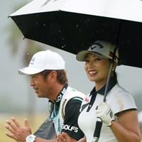 いつも笑顔をありがとう 2020年 日本女子プロゴルフ選手権大会コニカミノルタ杯 2日目 竹内美雪