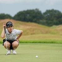 4つスコアを伸ばして2位タイ 2020年 日本女子プロゴルフ選手権大会コニカミノルタ杯 2日目 西村優菜