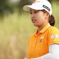 横顔~ 2020年 日本女子プロゴルフ選手権大会コニカミノルタ杯 2日目 西郷真央