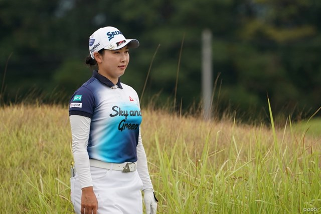 2020年 日本女子プロゴルフ選手権大会コニカミノルタ杯 2日目 小祝さくら 上位争いも、どこか落ち着いた雰囲気の小祝さくら