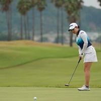 今日は1つしか伸ばせなかった 2020年 日本女子プロゴルフ選手権大会コニカミノルタ杯 2日目 小祝さくら