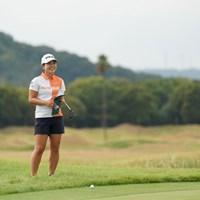 スマイルですよ 2020年 日本女子プロゴルフ選手権大会コニカミノルタ杯 2日目 吉川桃