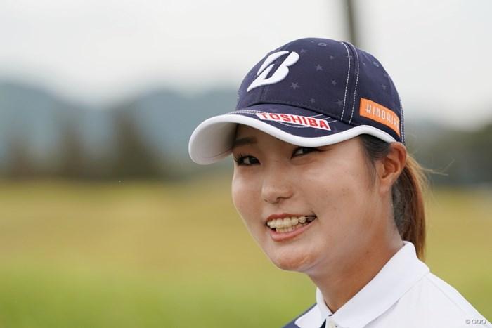 かわいいスマイル 2020年 日本女子プロゴルフ選手権大会コニカミノルタ杯 3日目 高橋彩華