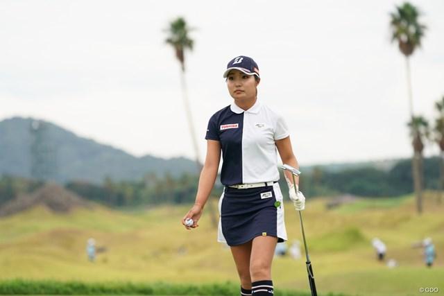 2020年 日本女子プロゴルフ選手権大会コニカミノルタ杯 3日目 高橋彩華 高橋彩華は、あすこそはバーディ量産なるか?