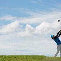 豪快なティーショット 2020年 日本女子プロゴルフ選手権大会コニカミノルタ杯 最終日 永峰咲希