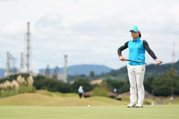 ルーティーン 2020年 日本女子プロゴルフ選手権大会コニカミノルタ杯 最終日 永峰咲希
