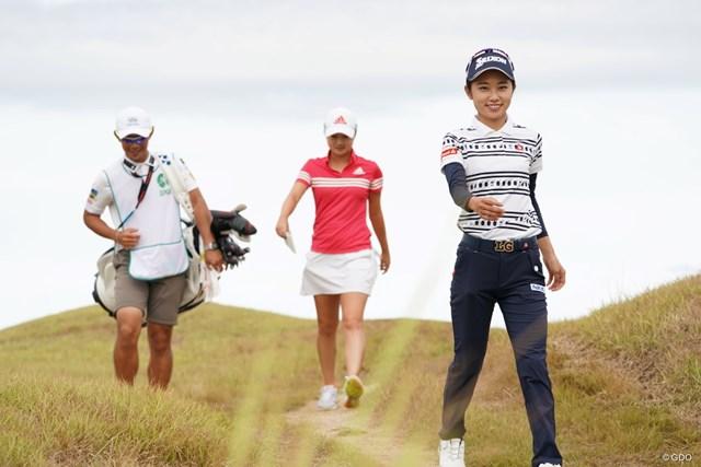 2020年 日本女子プロゴルフ選手権大会コニカミノルタ杯 最終日 安田祐香 今日も明るく笑顔だよ~