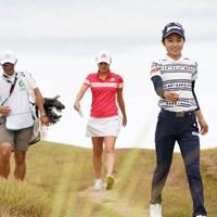 今日も明るく笑顔だよ~ 2020年 日本女子プロゴルフ選手権大会コニカミノルタ杯 最終日 安田祐香