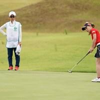 コンビで大活躍2位タイ 2020年 日本女子プロゴルフ選手権大会コニカミノルタ杯 最終日 木村彩子